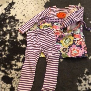Dress and leggings set - size 6